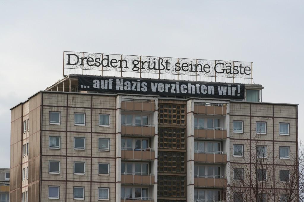 Dresden wehrt sich. Foto: Bürger Courage