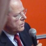 Peer Steinbrück - Der überflüssige Kandidat | debattiersalon | Foto: © Marcus Müller 2012