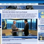 debattiersalon | Özdemir im Bericht aus Berlin | Screenshot © ARD