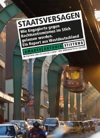 debattiersalon | Report Staatsversagen Titelbild | © Amadeu Antonio Stiftung 2013