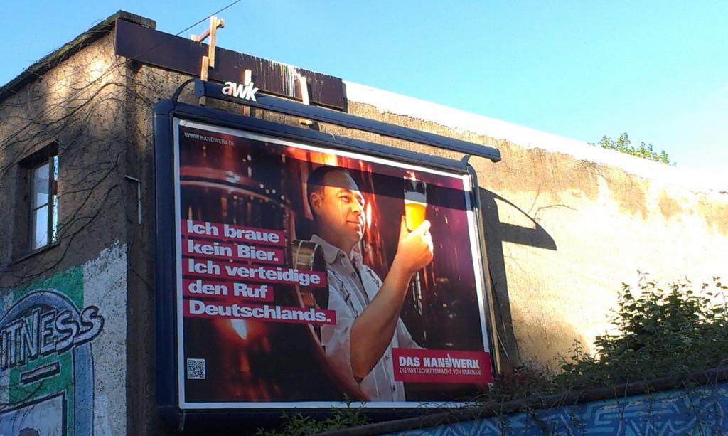DEUTSCHLANDBILD: Bierseligkeit | Politikblog debattiersalon | Foto: Michael Kraske © 2013