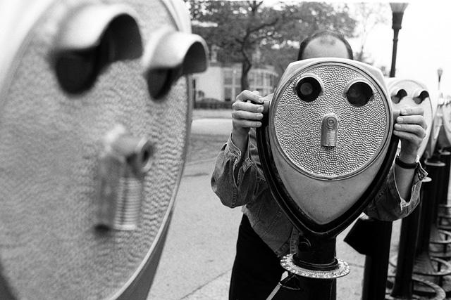 DEUTSCHLANDBILD zur NSA Affäre: Big Brother | Politikblog debattiersalon | Foto: Martin Langer © 1993