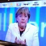 Politik Blog ds debattiersalon | Kanzlerin Angela Merkel CDU Fernsehen Text Widerstand Ungeist | Foto: Marcus Müller © 2013