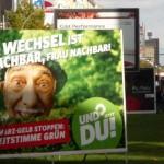 politikblog debattiersalon | #btw13 Wer sind die Grünen? Wahlplakat Grüne Berlin | Foto: Marcus Müller © 2013