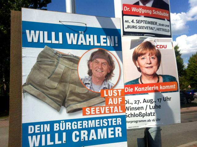 Politikblog debattiersalon | Deutschlandbild | #btw13 Willi Cramer Seevetal | Foto: Marion Kraske © 2013