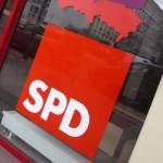 Politikblog debattiersalon | SPD Logo an Berliner Parteientrale | Foto: Marcus Müller